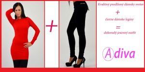 damske nohavice čierne
