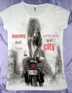 damske tricko motorcycle