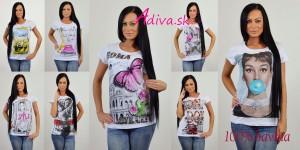 lacné dámske tričká