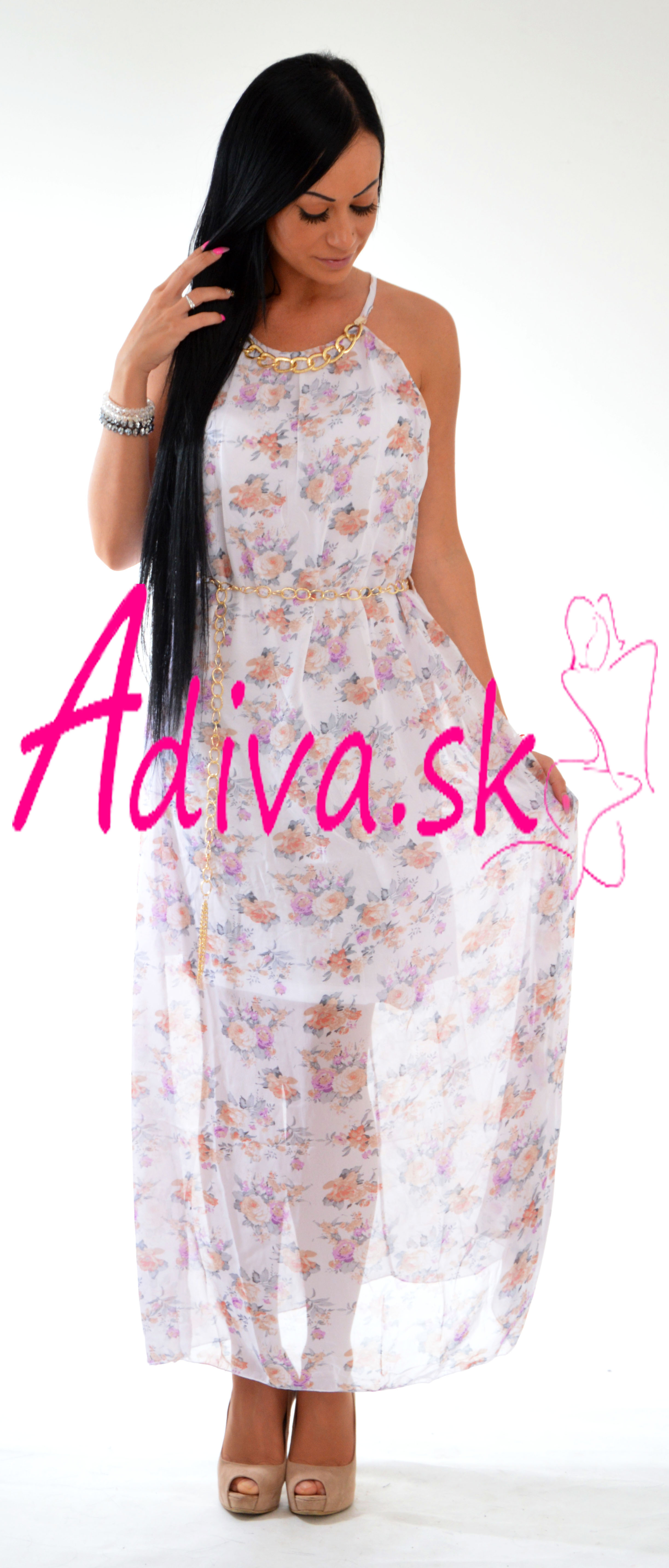 8eaa858d3 Dlhé letné šaty s kvetinkovými vzormi, ktoré letia toto leto!