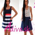 Moderné bodkované alebo pásikavé šaty. Ktoré si vybrať?