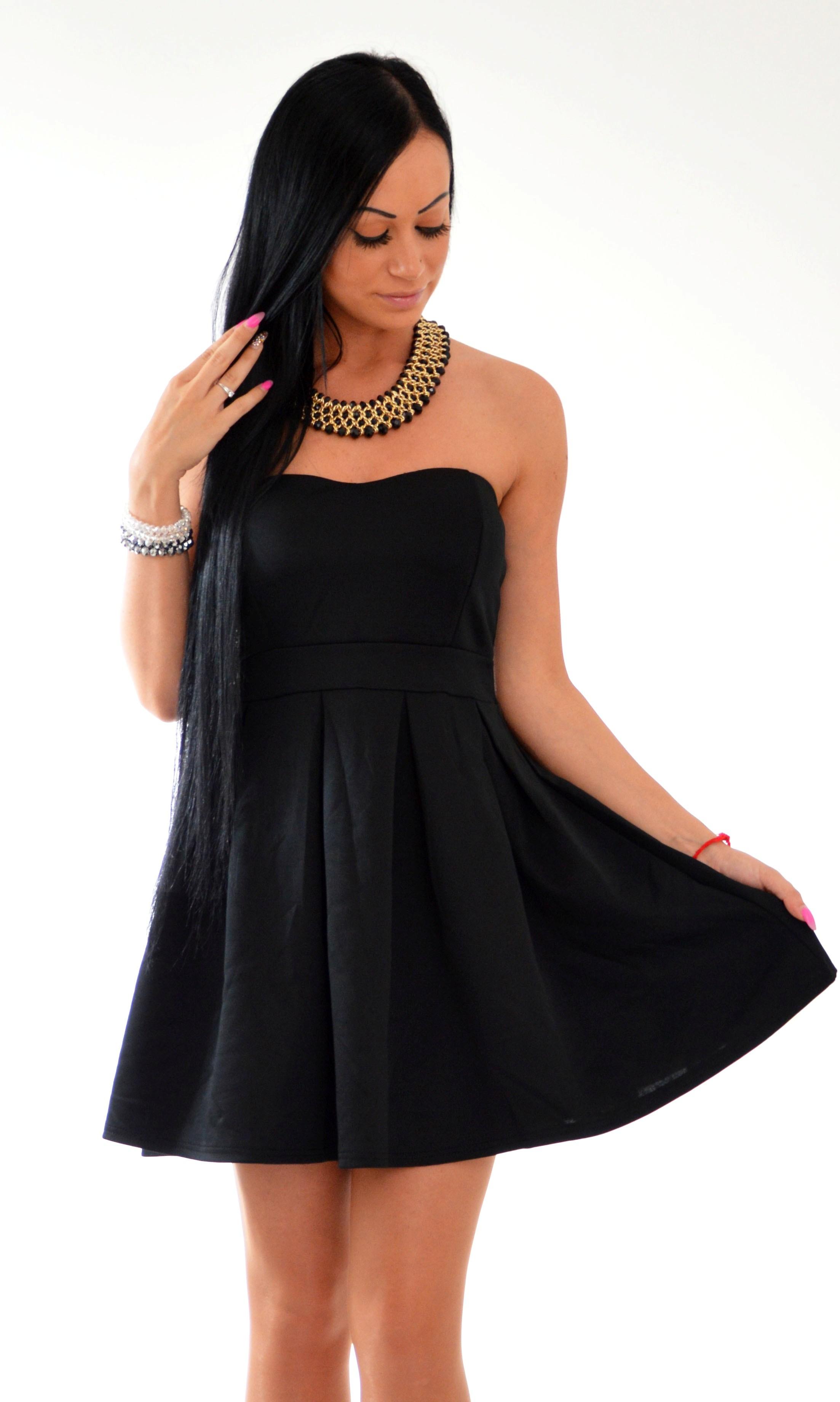 29f9f4bf4ca1 Romantické šaty bez ramienok pre všetky zvodné dámy