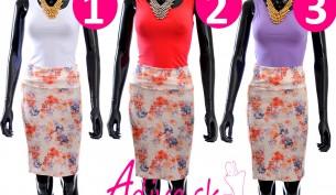 kvetinkové sukne