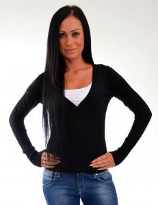 cierny sveter na gombiky