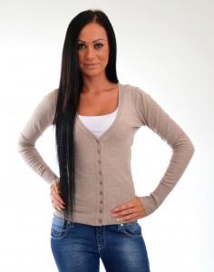 sveter na gombiky
