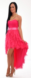 spolocenske šaty s tylovou suknou