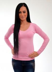 dámske tričko ružové