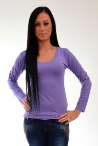 fialove damske tričko