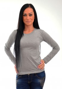dámske tričko sivé