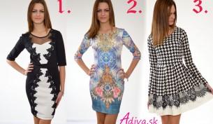 šaty s ačkovou sukňou