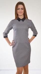 elegantné šaty s limčekom