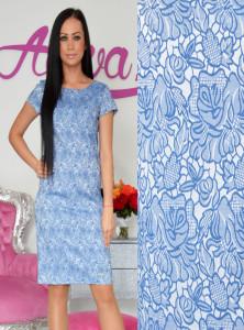 modré puzdrové šaty